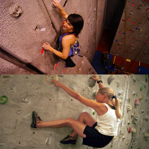 Climbing and Bouldering