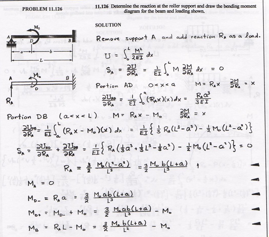 Enci 461 How To Draw Moment Diagrams Reviewcivilpe Mechanics Of Materials