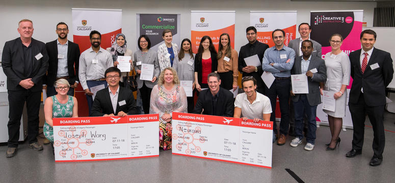 2018 Falling Walls Lab UCalgary Applicants and Winners