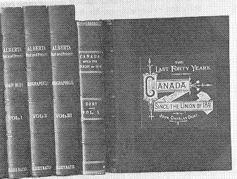 10 BLUE John Alberta Past And Present 1924 Historical Biographical By Blue BA Provincial Librarian Vignette Of