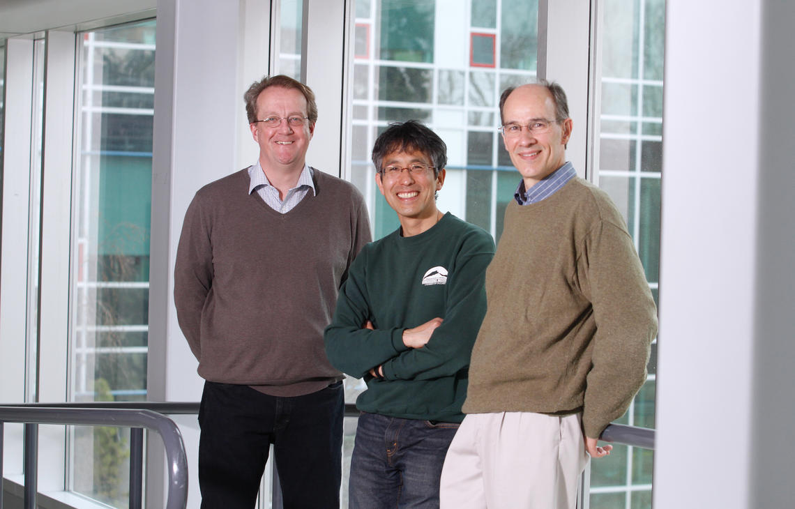 Three University of Calgary researchers – David Hall, Masaki Hayashi and Bernhard Mayer – have been awarded funding from Alberta Innovates – Energy and Environment Solutions (AI-EES) for projects exploring water quality and the sustainable management of groundwater.