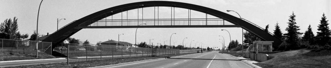 Crowchild Trail bridge, 1966