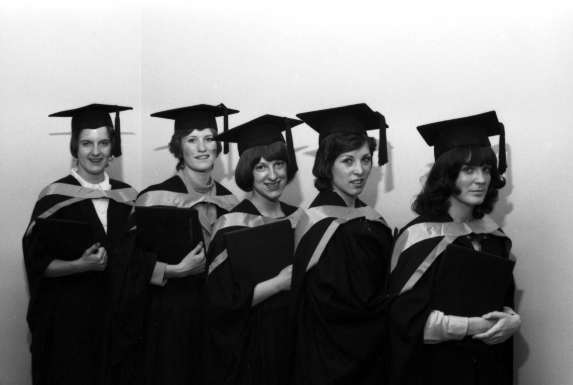 First School of Nursing graduates