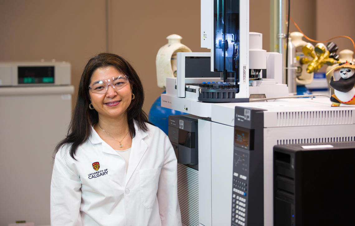 Dr. Susana Kimura-Hara, PhD, assistant professor in the Faculty of Science