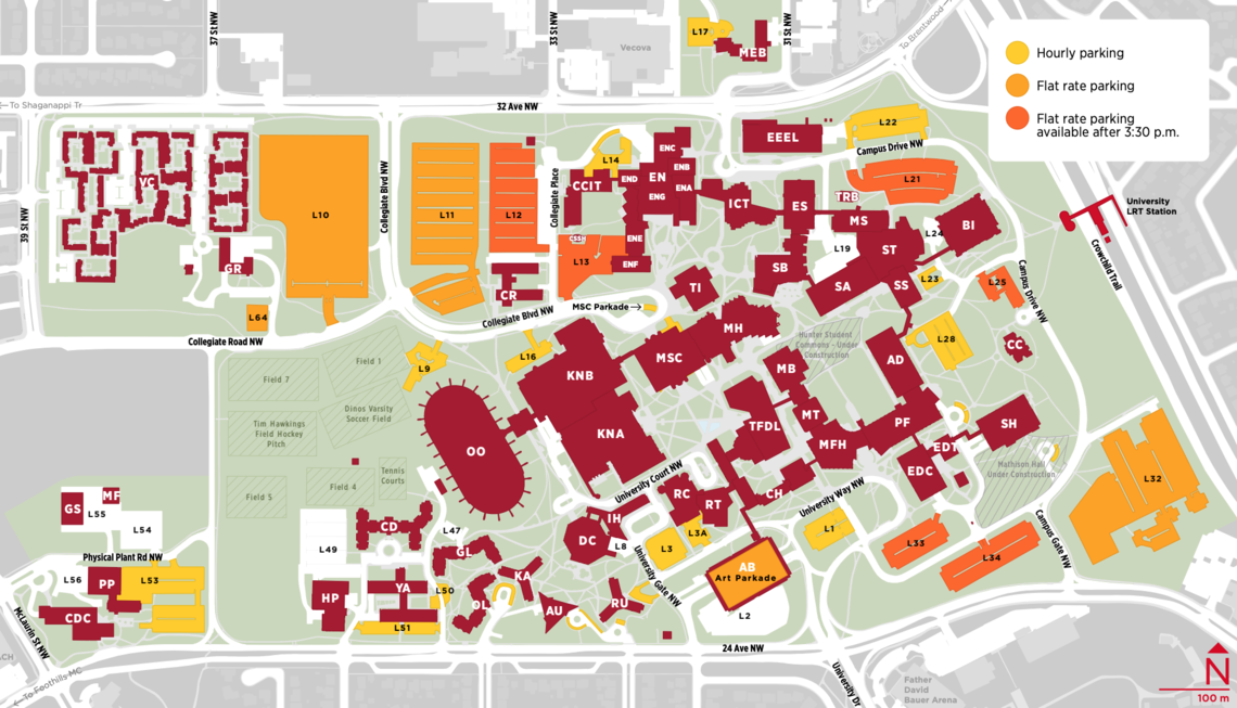 u of calgary campus map Campus Maps And Room Finder University Of Calgary