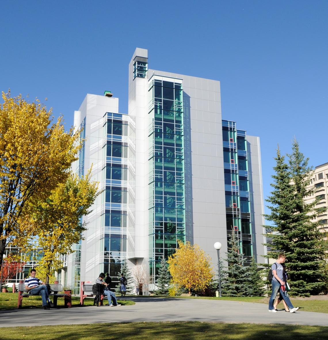 ICT Building on Main Campus