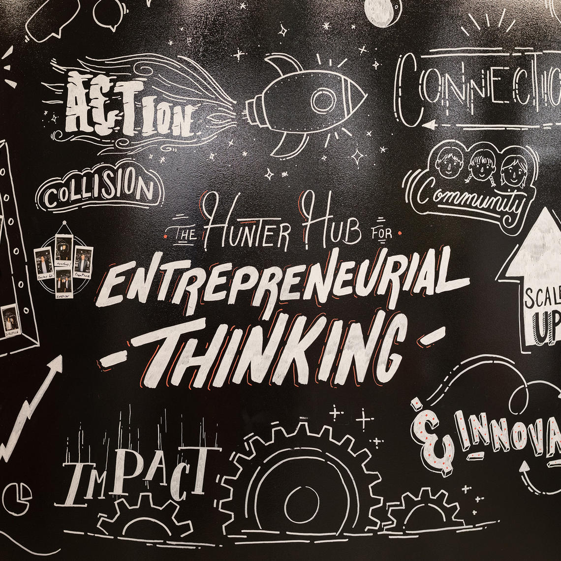 Hunter Hub for Entrepreneurial Thinking