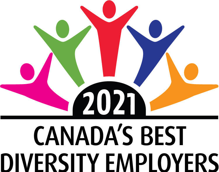 Canada's best diversity employers  (2017, 2018, 2019, 2020, 2021)