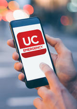 Download the UC Emergency app