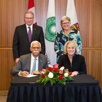 Aga Khan University and University of Calgary celebrate partnership