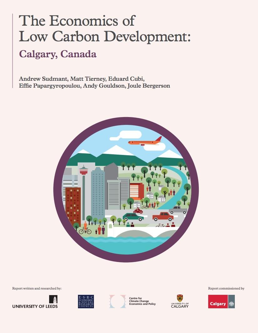 Joule Bergerson and Matt Tierney contributed to The Economics of Low Carbon Development: Calgary.