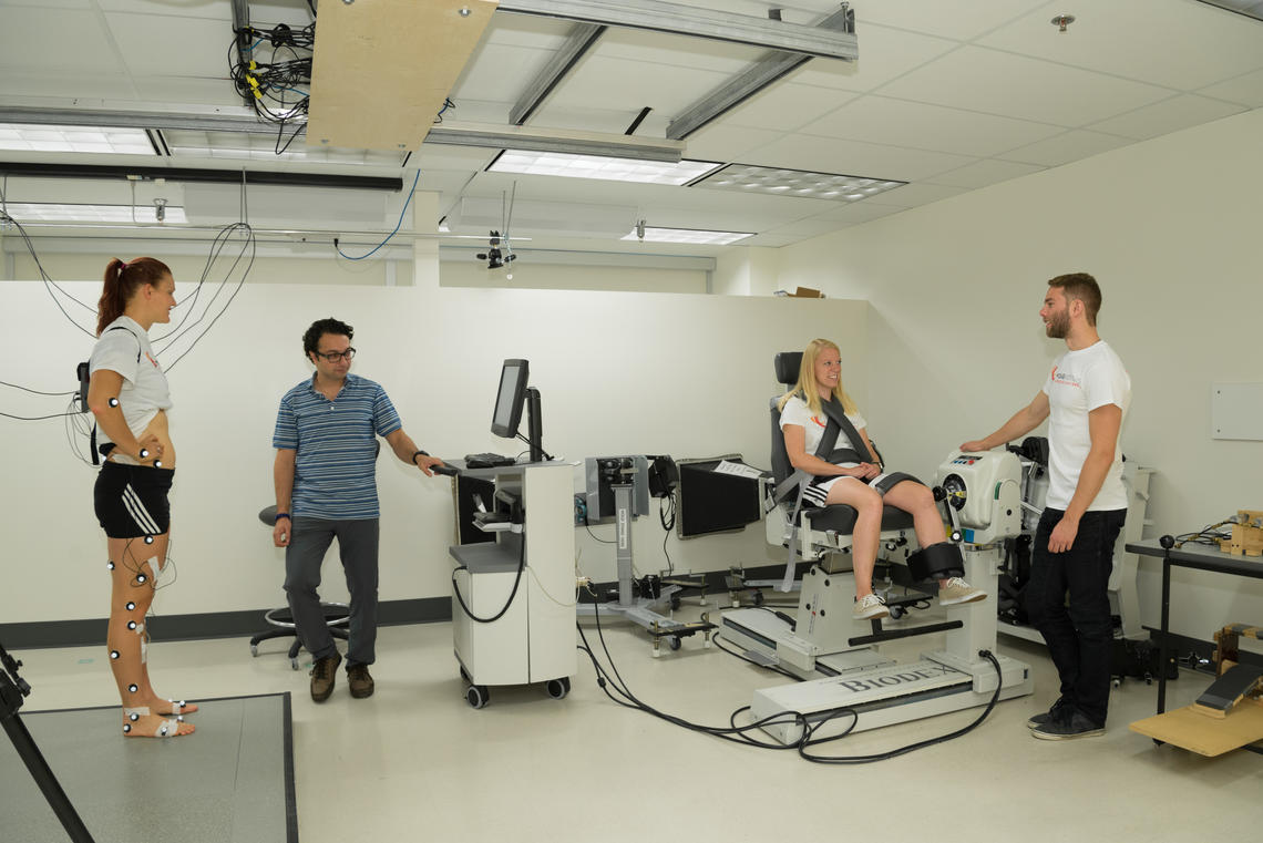 The new facility, housed and operated by the university's McCaig Institute for Bone and Joint Health, features state-of-the-art imaging, movement assessment and diagnostic equipment that will be used by researchers to assess bone and joint health.