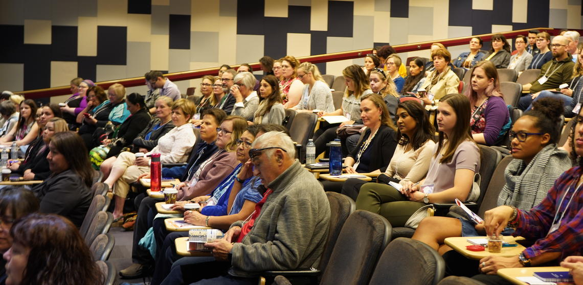 Attendees discussed how to create a more inclusive campus environment and health-care system.