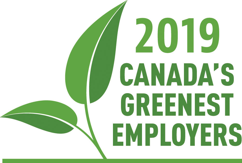 UCalgary is one of Canada's Greenest Employers in 2019.