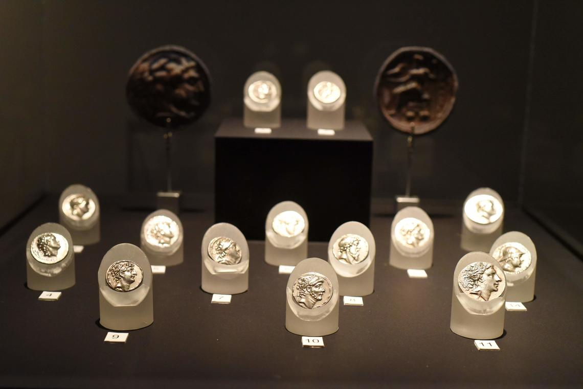 Indo-Greek coins