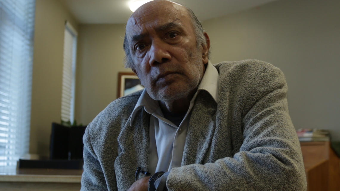 George is one of several older adults who tell their stories in Haskayne documentary.
