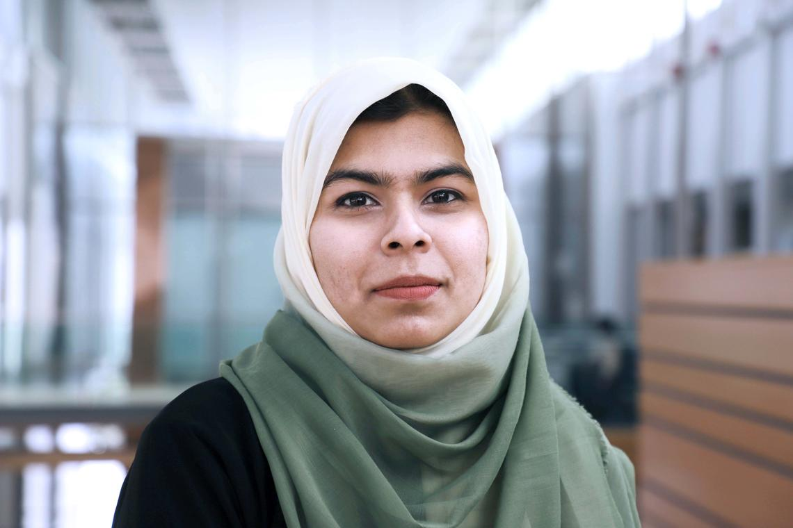 Headshot of WRC Distinguished Alumna Arshiya Shareef