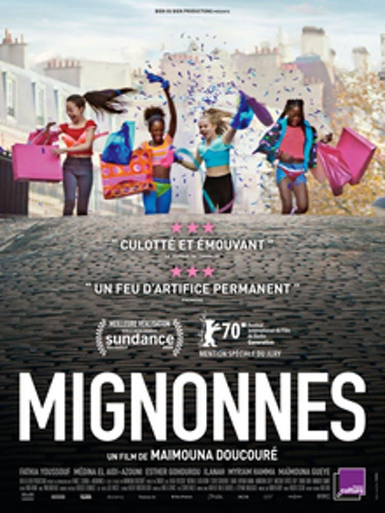 Poster for the French theatrical release of 'Mignonnes' ('Cuties')