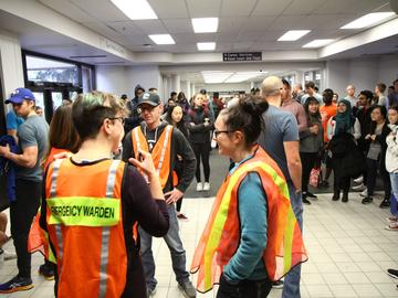 Evacuation plans are an important part of health and safety on campus. Evacuation drills were carried out from Sept. 10 to Sept. 20 as part of our annual emergency preparedness training for students, faculty and staff.