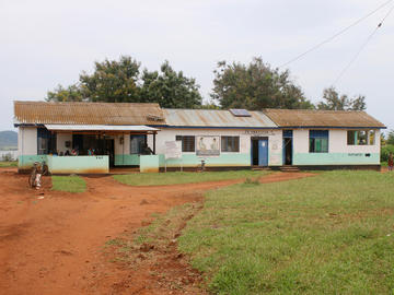 The old Mbarika health facility