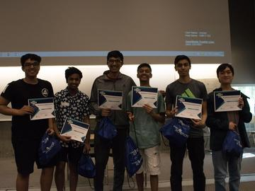 Winners of the 2019 SciEngTech Challenge.