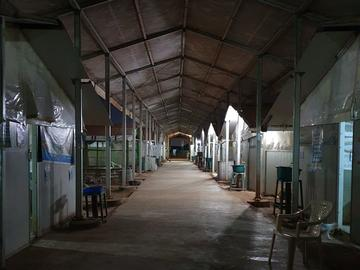 The MSF 164-bed hospital in South Sudan.