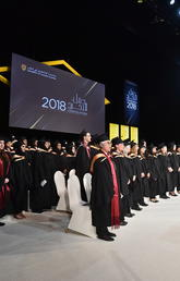 University of Calgary in Qatar's ninth convocation ceremony saw its graduate ranks swell by 120 Bachelor of Nursing and 13 Master of Nursing degrees.