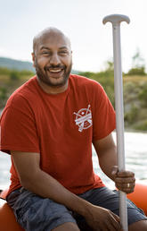 University of Calgary MBA student Ravi Thaker launched his boat rental company this summer.