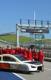 2019 UCalgary Solar Car Team in Austin, Texas
