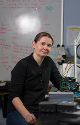 Dr. Emma Spanswick is part of a team recently given a prestigious award by NASA.