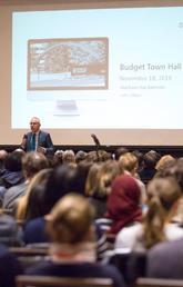 Budget town hall at UCalgary