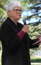Jane Matheson, PhD, RCSW, former CEO Wood's Homes